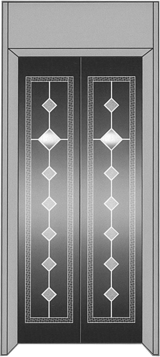 厅轿门成品HCFS-M015