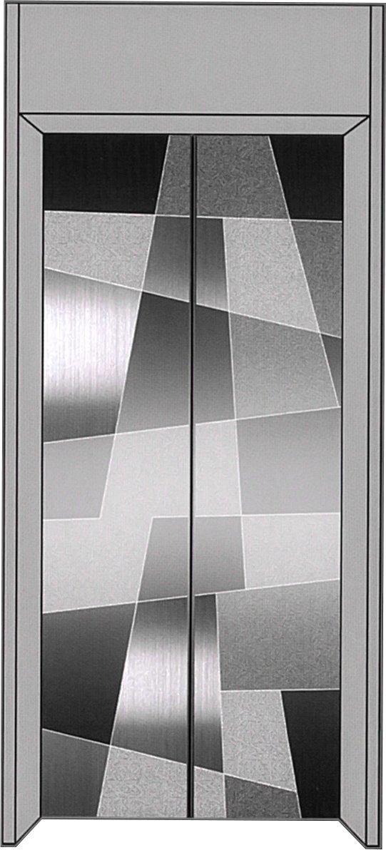 厅轿门成品HCFS-M026