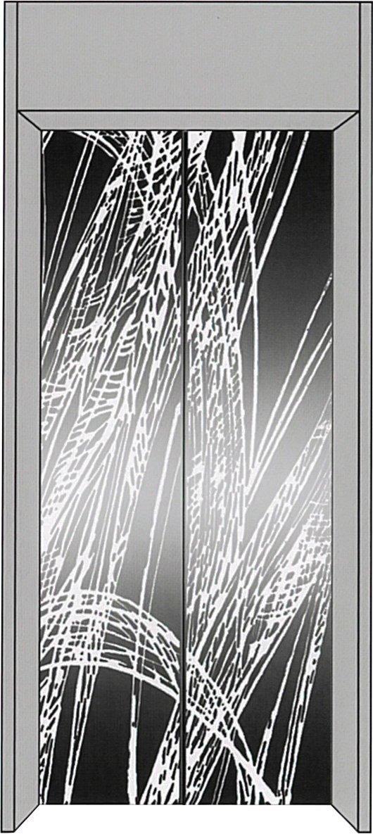 厅轿门成品HCFS-M027