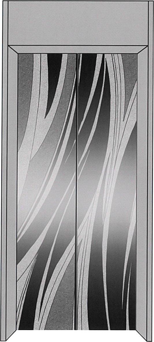 厅轿门成品HCFS-M028